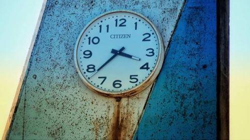 Fukushima clock