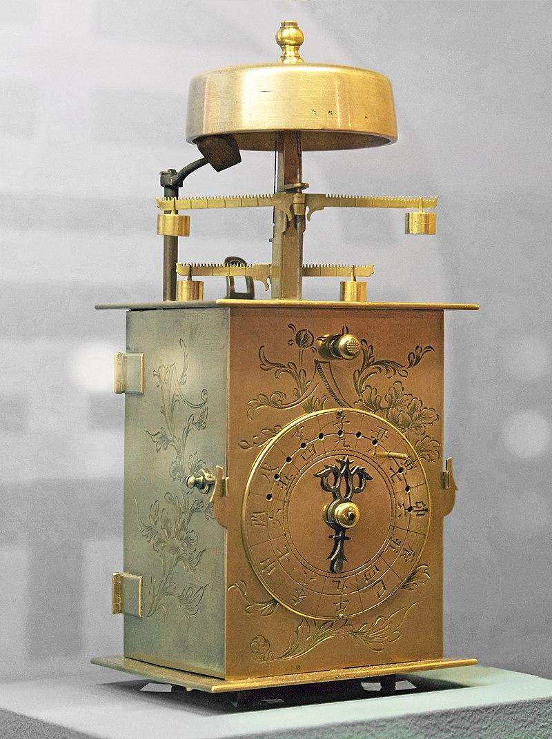 Le_Musée_Paul_Dupuy_-_Horloge_japonaise_à_double_foliot_(Wadokei)_-_Période_Edo