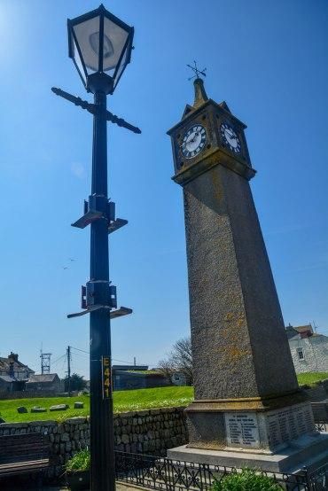 St Just War Memorial Clock Tower