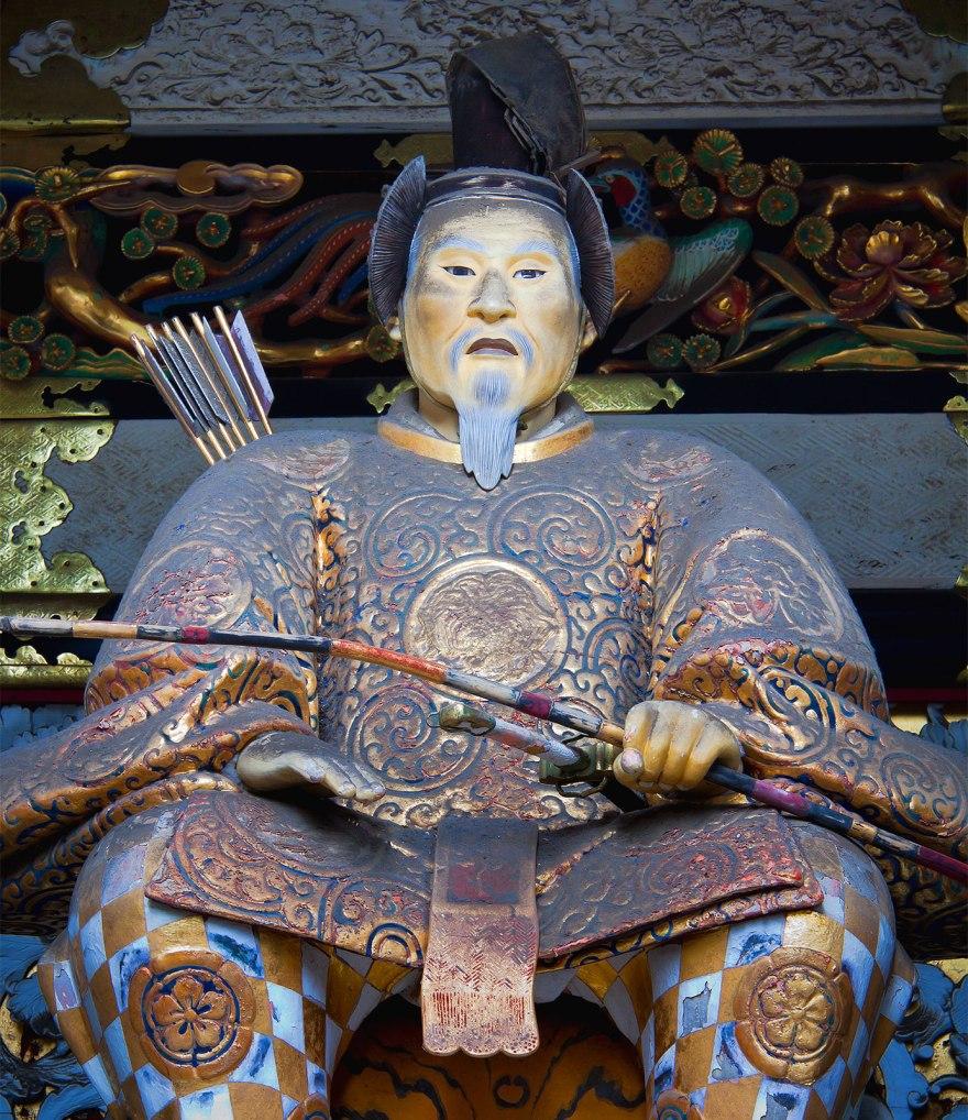 Statue-Tokugawa-Ieyasu-Tosho-Shrine-Japan-Nikko