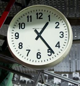 Tchernobyl horloge