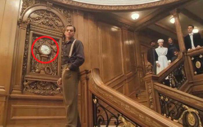 Titanic horloge 1° classe