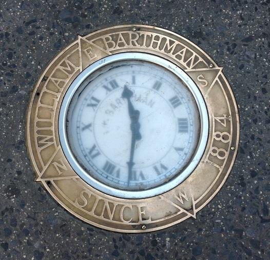 Clock-MaidenLane-Broadway-Barthman-NYC-Untapped-Cities