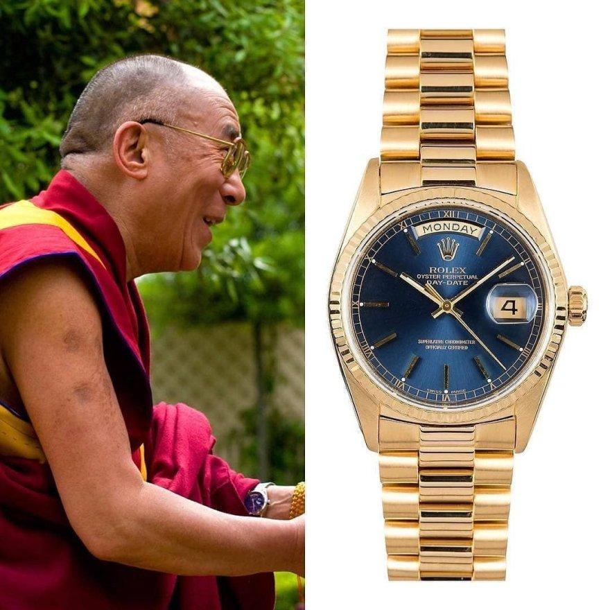 dalaî lama montre
