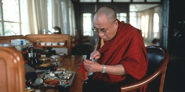 dalaï lama horloger