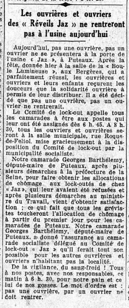 Le Populaire 25 mars 1935