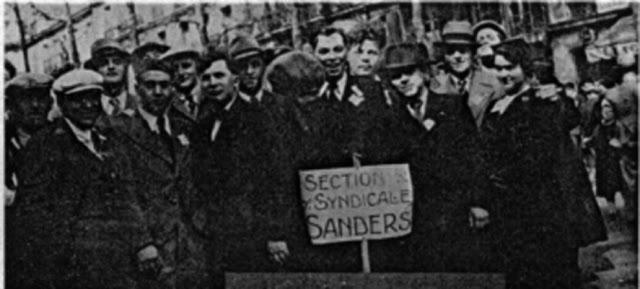 Sanders manif